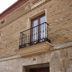 Detalle de la fachada del CTP